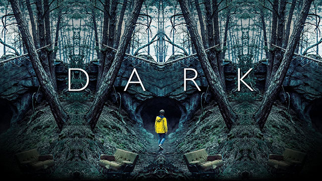 Title card from the Netflix series, Dark