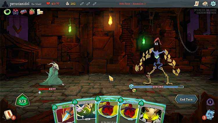 A screenshot of Slay the Spire